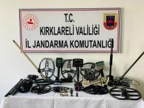 Kırklareli'de Tarihi Eser Operasyonu Açıklaması 5 Gözaltı