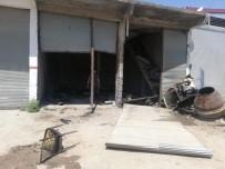 Mardin'de LPG Tankı Patladı Açıklaması 1 Yaralı