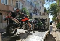 Erdek Polisinden Motosiklet Uygulaması
