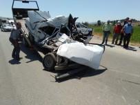 Kamyonla Çarpışan Araç Sürücüsü Olay Yerinde Hayatını Kaybetti