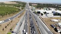 Tuzla'da Kurban Bayramı Arefesinde Trafik Yoğunluğu