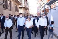 Bakan Kurum Akşehir'de İncelemelerde Bulundu