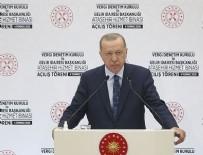 AÇILIŞ TÖRENİ - Cumhurbaşkanı Erdoğan kürsüden böyle seslendi!