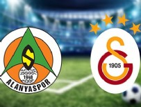 ALANYASPOR - Alanyaspor-Galatasaray (CANLI)