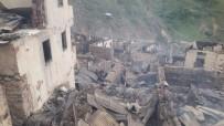 Dokumacılar Köyünde Çıkan Yangının Ardından Yaralar Sarılmaya Çalışılıyor