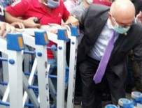 KUĞULU PARK - Mahmut Tanal polis barikatlarını yıktı!