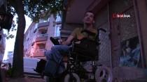 (Özel) Vicdansız Hırsızlar Engelli Gencin Arabasını Parçalara Ayırıp Çaldılar
