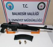 Balıkesir'de 4 Adet Ruhsatsız Silah Ele Geçirildi