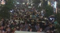 KURBAN BAYRAMı - İstiklal Caddesi'nde korkutan görüntü!