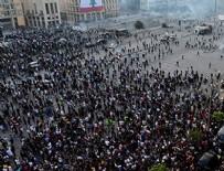 AMONYUM NİTRAT - Beyrut'ta hükümetin istifa haberinden sonra gösteriler başladı!