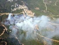 HELIKOPTER - O yangınla ilgili bakanlıktan açıklama!