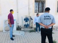 Kızıltepe'de Hırsızlar Caminin Klima Motorunu Çalıp Hurdaya Sattı