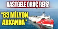 SİSMİK ARAŞTIRMA GEMİSİ - 83 milyon arkanda Oruç Reis!