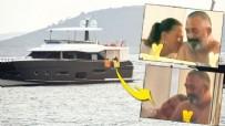 YAĞMURLU - Cem ve Serenay'ın teknede romantik anları!