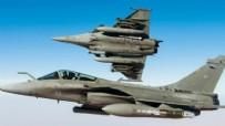 GÜNEY KıBRıS - Fransız savaş uçakları Doğu Akdeniz'e indi!