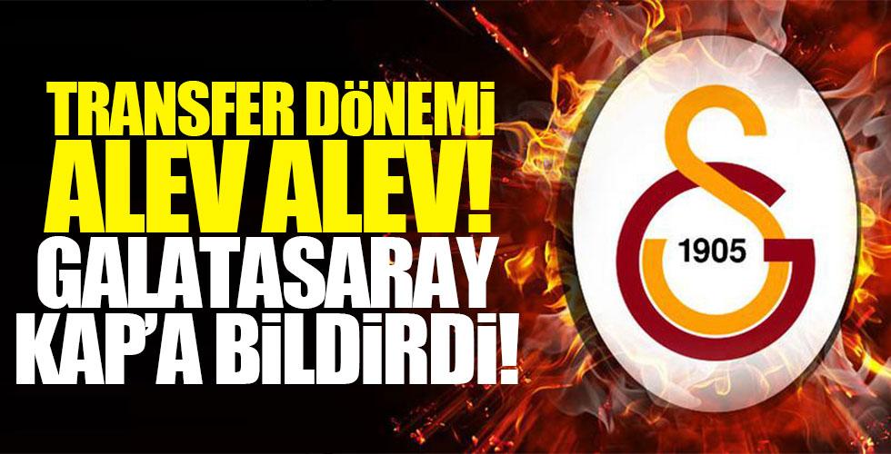 Galatasaray yeni bombasını KAP'a bildirdi!