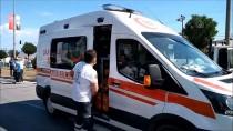 Samsun'da Kamyonet İle Motosiklet Çarpıştı Açıklaması 1 Ölü, 2 Yaralı