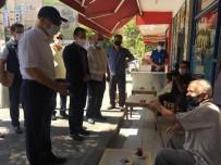 Tuzla'da Kaymakam Ve Belediye Başkanı Korona Virüs Tedbirlerini Denetledi