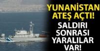 DENİZ KUVVETLERİ - Yunan Deniz Kuvvetleri tarafından ateş açıldı!