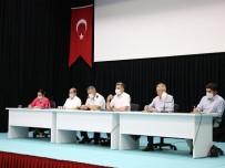 Gönen'de Muhtar Ve İmamlara Korona Toplantısı