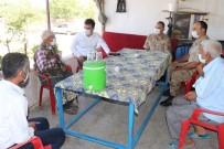 Kaymakam Soysal'dan Gazilere Ziyaret