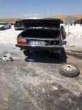 Konya'da İki Otomobil Çarpıştı Açıklaması 1 Ölü, 5 Yaralı