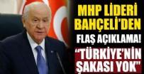 FELAKET - MHP lideri Bahçeli'den flaş açıklama! 'Türkiye'nin şakası yok'