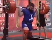 MOSKOVA - Canlı yayında bacakları kırıldı!