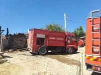 Eskişehir'de Ev Yangını