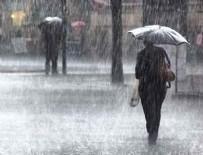SAĞANAK YAĞIŞ - Meteoroloji, 10 il için sağanak uyarısı yaptı