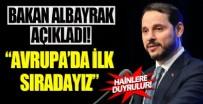 SANAYİ SEKTÖRÜ - Bakan Albayrak açıkladı!