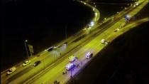 Düzce'de Ambulans Şarampole Devrildi 3'Ü Sağlıkçı 4 Kişi Yaralandı