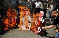 PROTESTO - Filistin'de İsrail ile anlaşan BAE'ye tepki!