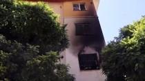 Adana'da Annesinin Evini Ateşe Verip Kaçtığı İleri Sürülen Şüpheli Aranıyor