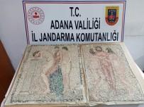 Adana'da Roma Dönemi'ne Ait Mozaik Ele Geçirildi