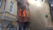 YANGINA MÜDAHALE - Korkutan yangın! Mahalleli sokağa döküldü