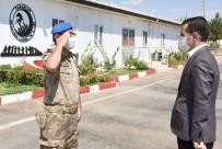 Nusaybin Kaymakamı Temizkan, Komando Taburunu Ziyaret Etti
