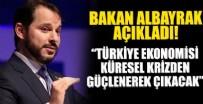 DOLAR - Bakan Albayrak: Türkiye ekonomisi kresel krizden daha da güçlenerek çıkacak!