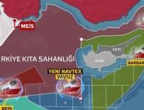 TÜRK SILAHLı KUVVETLERI - Batı'yı çıldırtan harita!
