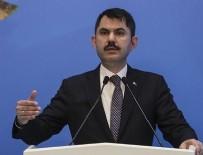 ÇEVRE VE ŞEHİRCİLİK BAKANI - Çevre ve Şehircilik Bakanı Murat Kurum'dan flaş kentsel dönüşüm açıklaması