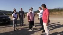 Kenan Sofuoğlu, Cumayeri'nde İnşası Süren Pistte İncelemede Bulundu