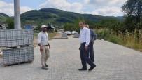 Kilit Parke Taşı Döşemesi Yapılıyor