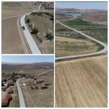 Kırşehir'de, Çiçekdağı- Baraklı-Akbıyık İle Gölcük-Konurkale Yol Yapım Çalışmaları Tamamlandı