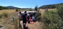 Yoldan Çıkan Otomobil Şarampole Uçtu Açıklaması 3 Yaralı