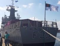LÜBNAN - Beyrut'taki patlamada hasar gören askeri gemi Türkiye'de tamir edilecek!