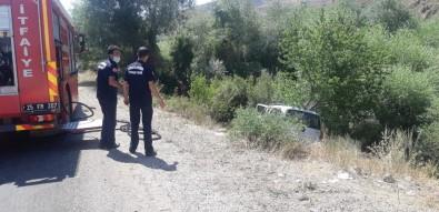 Erzurum'da Trafik Kazası Açıklaması 1 Ağır Yaralı