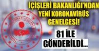TOPLU ULAŞIM - İçişleri Bakanlığı'ndan yeni koronavirüs genelgesi!