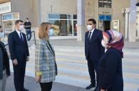 Vali Becel, Gülşehir Belediye Başkanı Çiftçi'yi Ziyaret Etti