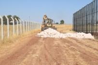 Viranşehir'de Misafir Tribünü İçin Yol Çalışması