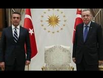 CUMHURBAŞKANLIĞI KÜLLİYESİ - Cumhurbaşkanı Erdoğan, Ali Koç'u kabul etti